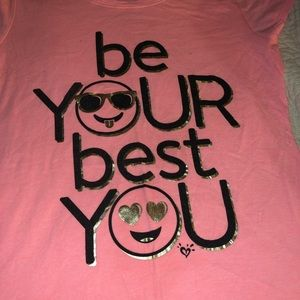 Be Your Best You Short Sleeve T-shirt Size 16